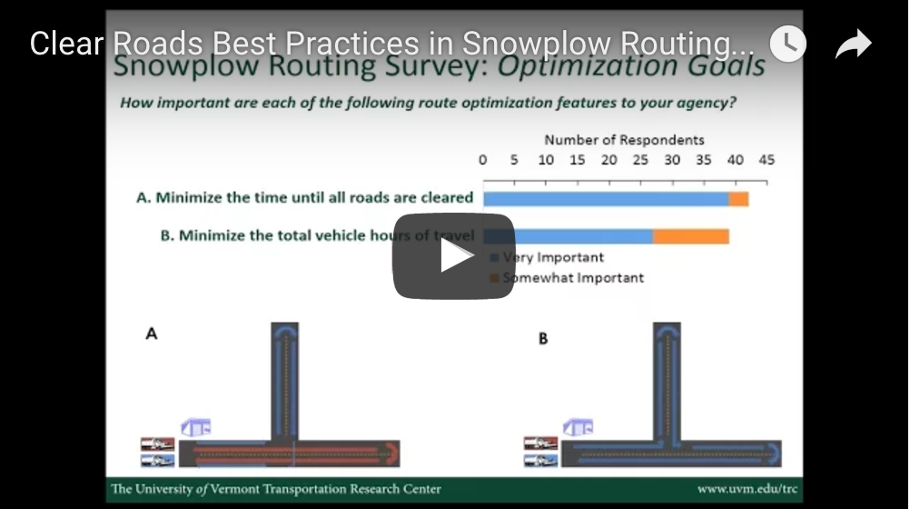 Clear Roads - Snowplow Route Optimization