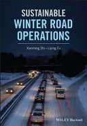 Book cover - Sustainable Winter Road Operations