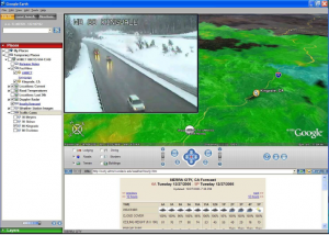 Sample snow fighter information system screen capture