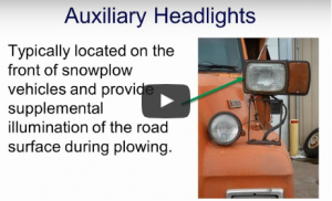 Clear Roads - Use of Equipment Lighting During Snowplow Operations
