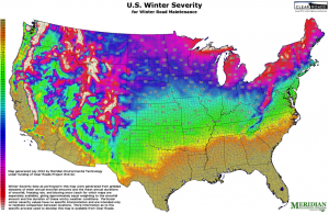 Weather Severity Mapping