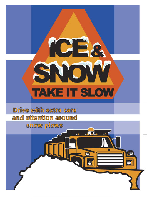 national winter safety campaign clear roads