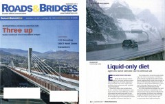 Liquid-Only Diet article, Sept. 2011 Roads & Bridges magazine