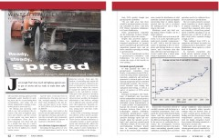 Ready, Steady, Spread article in Roads & Bridges
