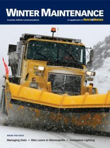 2016 Roads & Bridges Winter Maintenance Supplement cover