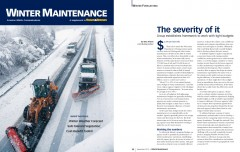 Article on Severity Mapping project in Sept. 2013 Roads & Bridges
