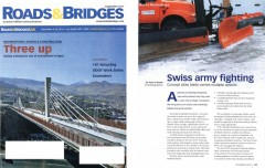 Swiss Army Fighting article in Roads & Bridges