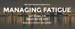 International Conference on Managing Fatigue logo