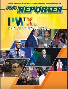 APWA Reporter Nov. Issue