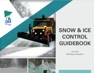 Snow and Ice Control Guidebook cover