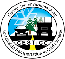 center for environmentally sustainable transportation in cold climates logo