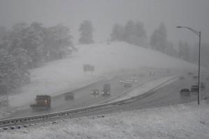 Fall snow in Colorado
