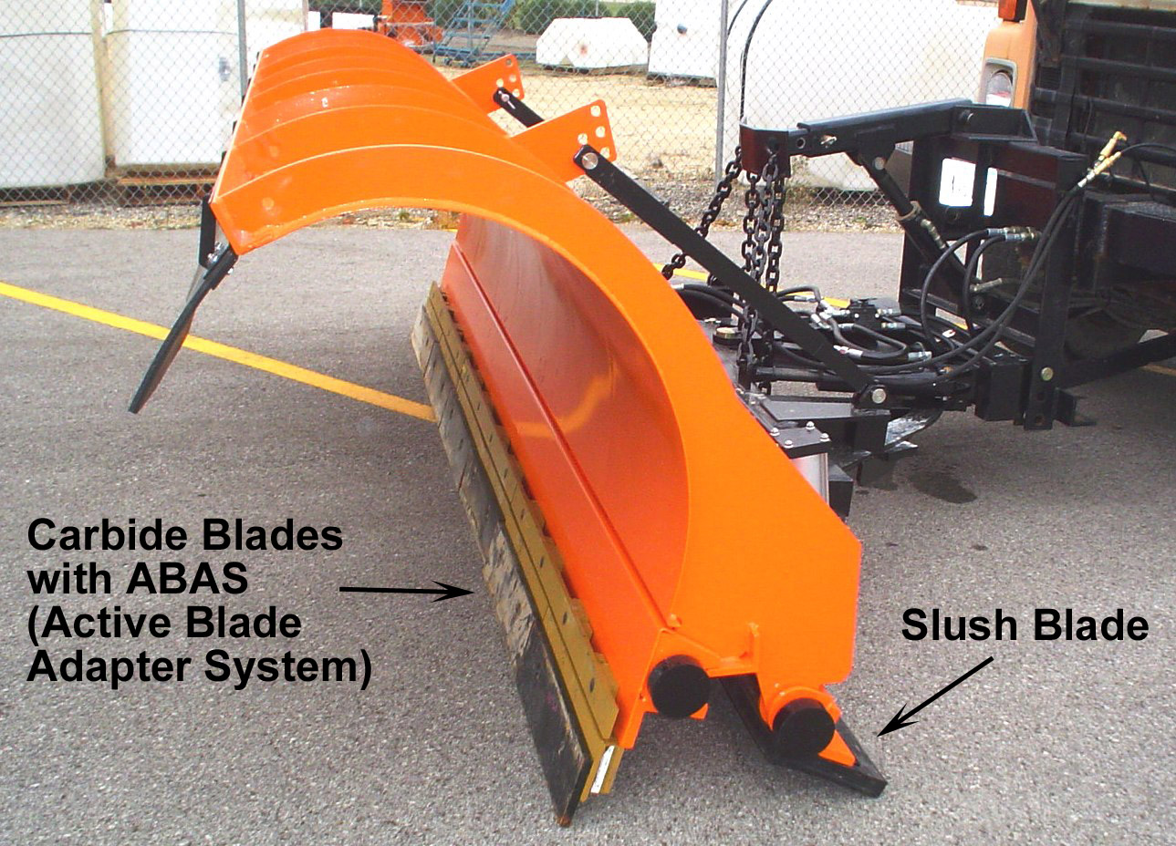 Multiple Blade Plow Prototypes Clear Roads