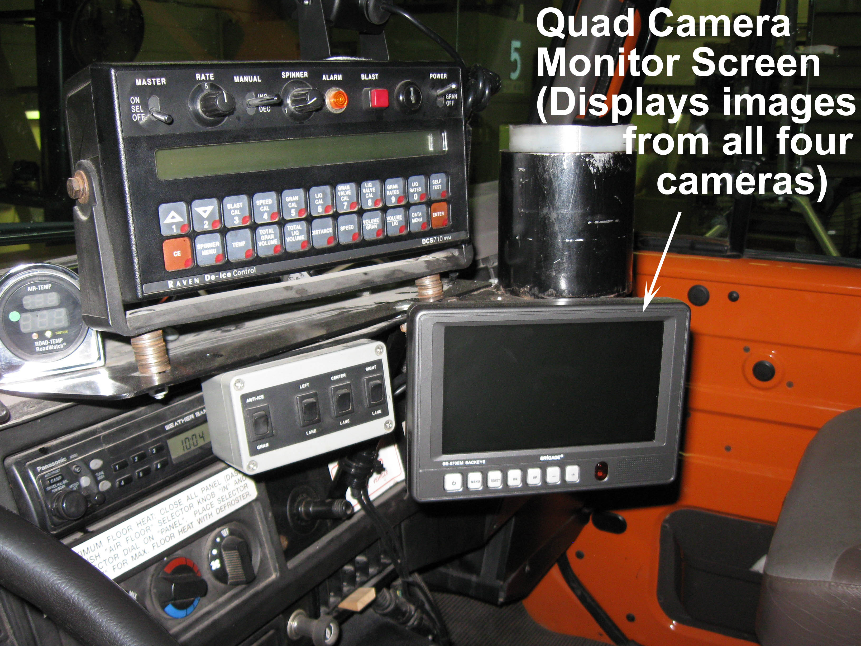 Rear View Safety Four-Camera Backup System RVS-062710 B&H Photo